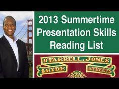 2013 Summer Presentation Skills Reading List