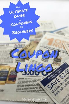 Guide to couponing,