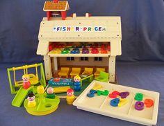 School #fisher_price #little_people #vintage