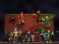 Dark Alley (MarvelLegends.net)  // Pinned by: Marvelicious Toys - The Marvel Universe Toy & Collectibles Podcast [ m a r v e l i c i o u s t o y s . c o m ] marvelici toy, toy stori, univers toy