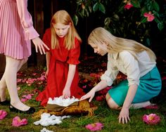ARTmonday: Holly Andres' Photographs of Young Girls | StyleCarrot