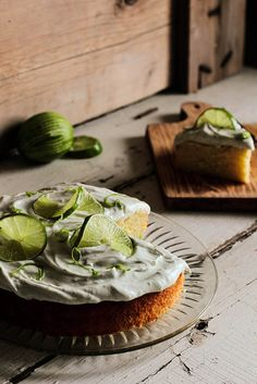 Boozy Margarita Lime Cake | Pastry Affair