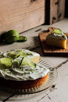 Boozy Margarita Lime Cake / pastryaffair, via Flickr
