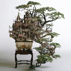 Bonsai Tree Houses by Takanori Aiba. In Spanish