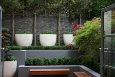 Outside Spaces - Courtyards & Small Gardens on Pinterest