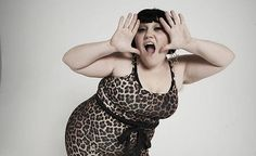 """""""I'm not an unhealthy person and I feel like one of the most tiring parts of being fat and being proud of it is… you do a lot of proving yourself all the time."""" -Beth Ditto"""