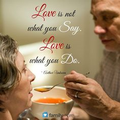 Love is action!