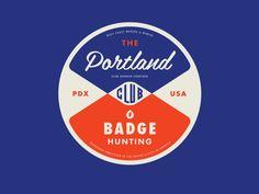Portland Badgehunting Club   Allan Peters