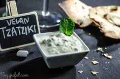 Veggieful: Vegan Tzatziki Recipe. This was a wonderful compliment to the falafel gyros I made. I didn't have any cucumber, but I added dill and it was delicious. Non-vegan roommate-approved. :)