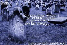 Lyrics Say It All