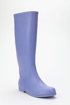 UrbanOutfitters.com > UO Zip-Up Rain Boot - Super cute! Wish I needed them!