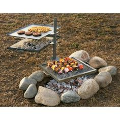 Camp Chef Mountain Man Over-The-Fire Grill and Griddle