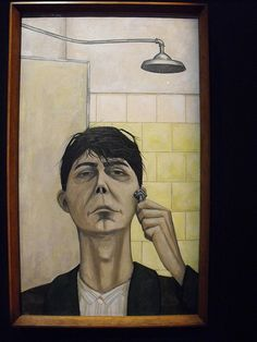 John Brack -- Self Portrait.