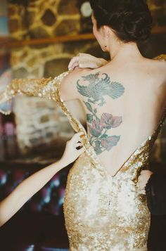 dustjacket attic: Wedding Inspiration | A Golden Day