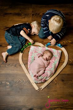 Precious ...  Brothers love their sisters.