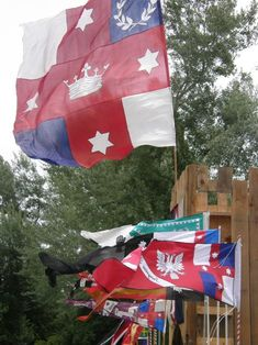 A guide to silk flags, banners and standards, by Katherine Kerr of the Hermitage