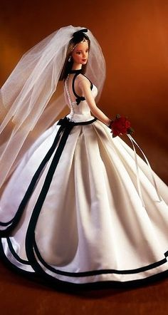 Vera Wang's first Bride Barbie