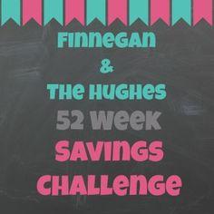 52 Weeks Savings Challenge (with free printable organizer!) Save Money, Challenges, Save Challeng, Week Save, 52 Week