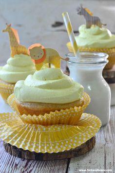 Lemon-Blackberry Cupcakes | #glutenfree #dairyfree #vegan