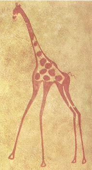 Giraffe Cave Painting: Tattoo Idea?