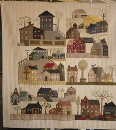 patchwork, quiltshous, mysteri quilt, hous quilt, appliqu, yoko saito, japanes quilt, huisi, quilt casa