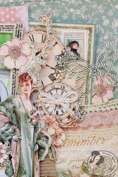 Graphic45 Sharon Ngoo Layout Ladies Diary (detail 2)