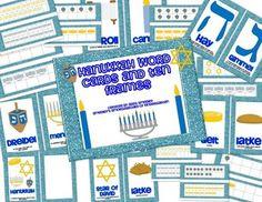 Hanukkah Word Cards