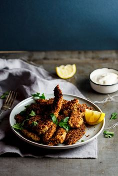 Almond & parmesan crumbed chicken