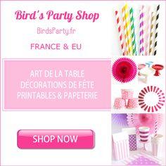Comment monétiser son blog - Programme de Parrainage Bird's Party SHOP #blog #blogger #Marketing