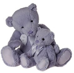 My First Charlie Bear, Lilac-MFCB14LL  15.5 Inches Machine Washable Suitable for All Ages  Listing Is for Large Bear Shown In Picture ONLY