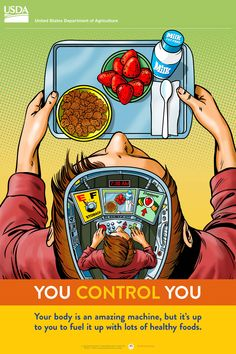 Empower 'tweens to eat a healthy #breakfast with this #free poster for middle #schools. #education #MyPlate http://www.fns.usda.gov/tn/middle-school-posters