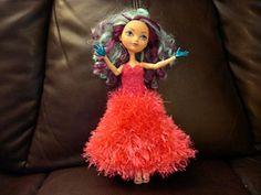 #0281 Dress with fur DIY