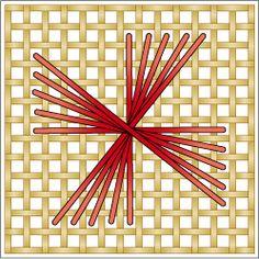 The Rhodes Stitch: Rhodes Pinwheel