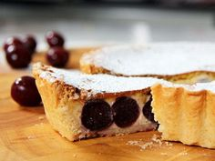 Fabulously French: French Food Friday...Cherry Clafoutis Tart Recipe