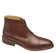 Hutchins Cap Toe Boot - As Seen In Esquire, September 2012