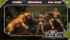 Marvel Legends Savage Land Gift Set // Pinned by: Marvelicious Toys - The Marvel Universe Toy & Collectibles Podcast [ m a r v e l i c i o u s t o y s . c o m ] marvelici toy, legend hasbro, univers toy, marvel legend