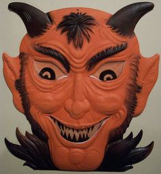 Vintage German Halloween Devil Diecut