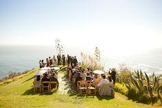 Bluff Wedding Ceremony