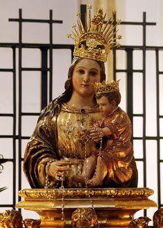 Virgen de la Peana. Colonia Borjana de Zaragoza.