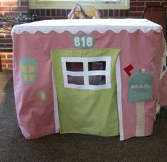 card table tent