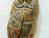 Ceramic Owl  Tile