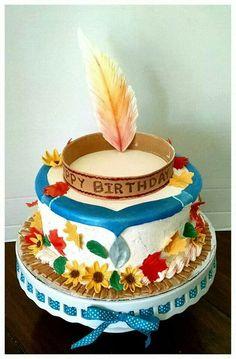 Pocahontas cake