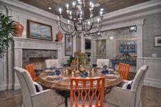 dining rooms, chair, del mar, dine room, blue, orange county, oranges, corona del, terraces
