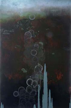 """Black Lobe"" by Darren Waterston | Haines Gallery"