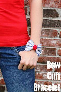 Bow Cuff Bracelet