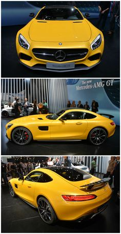 Mercedes Benz AMG GT S (503 hp) - 2014 Paris Auto Show