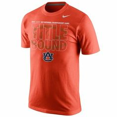 Nike Auburn Tigers 2014 BCS National Championship Bound T-Shirt - Orange orang, auburn tigers, tiger 2014