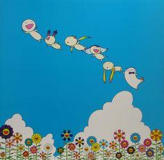 flying blue Murakami