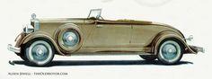 1932 Hupmobile, designed by Raymond Lowey
