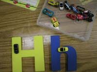 Cute ways for younger kids to practice writing their letters!